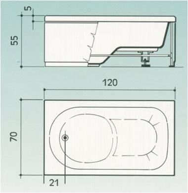 Bardelli mario vasche in vetroresina per sovrapposizione - Vasche da bagno immagini ...