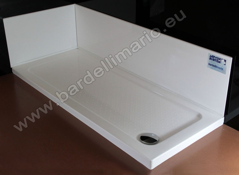 Cool elegant beautiful piatto doccia unico x with rivestire piatto doccia with piatto doccia da - Rivestire piatto doccia ...