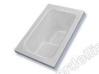 BardelliMario-Vasche da sovrapposizione  -  Vasca 107 x 67 con sedile