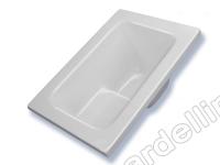 BardelliMario-Vasche da sovrapposizione  - Vasca 122 x 72 con sedile